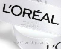 Печать на рекламных лентах объемной шелкографией