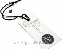 Бумажные бирки для одежды
