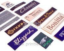 Вшивные этикетки для одежды